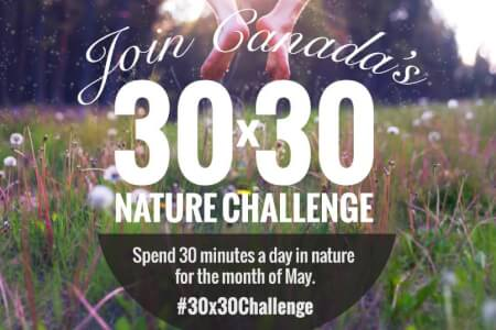 Join Me in the 30x30 Nature Challenge!