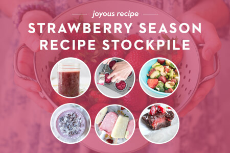Strawberry Season Recipe Stockpile