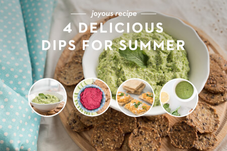4 Delicious Dips for Summer