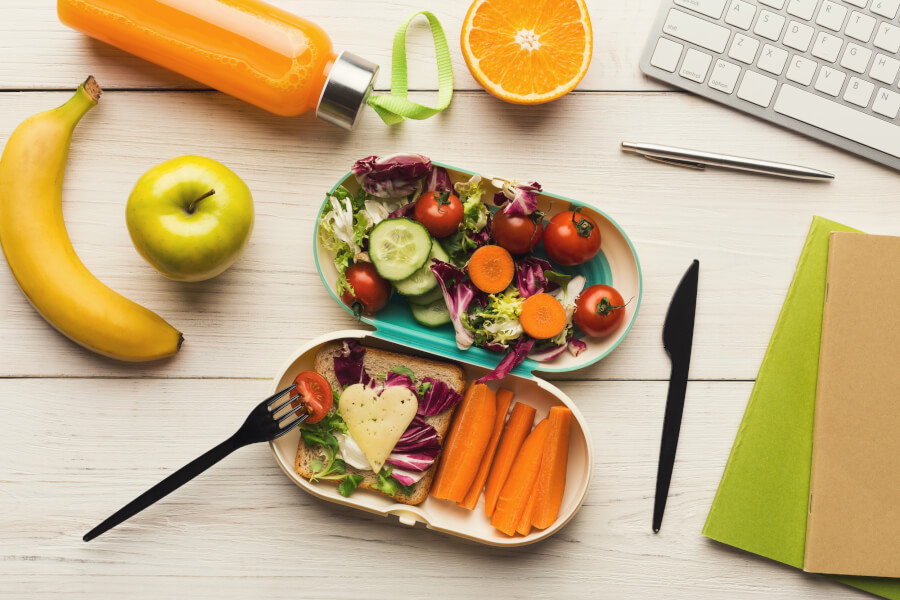 8 Healthy Eating Tips When You're Working from Home