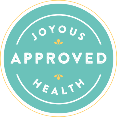 Joyous Health Approved Seal