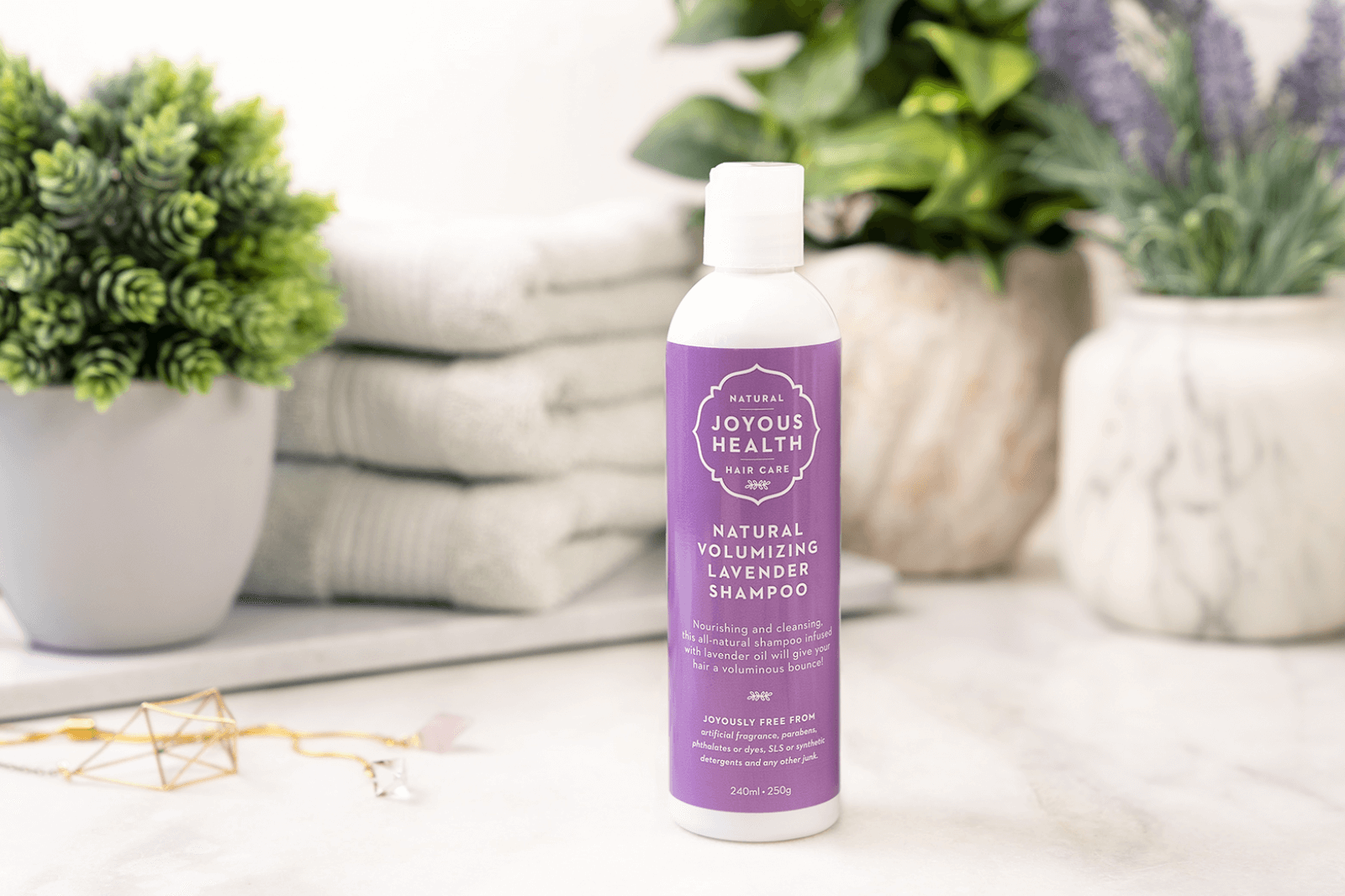 Natural Volumizing Lavender Shampoo thumbnail