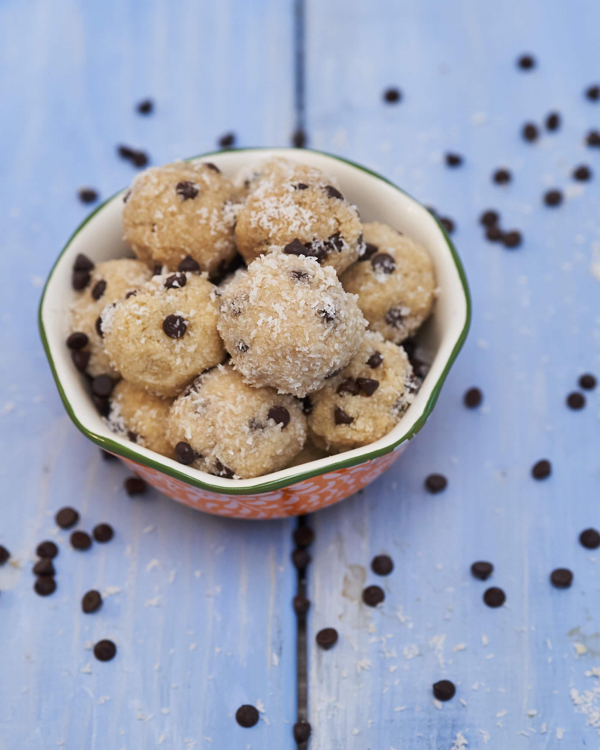 Collagen Chocolate Chip Snowballs Joyous Health
