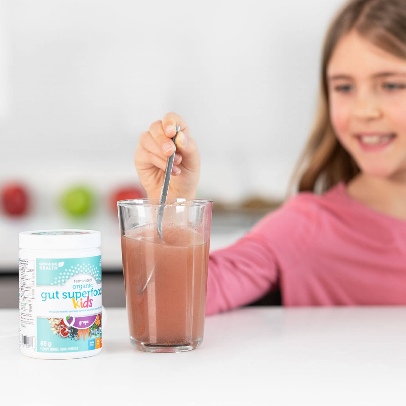 Joyous Health Genuine Healthy Kids Feremented Organic Gut Superfoods+ Kids