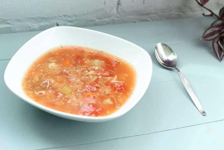 Turkey Quinoa Soup