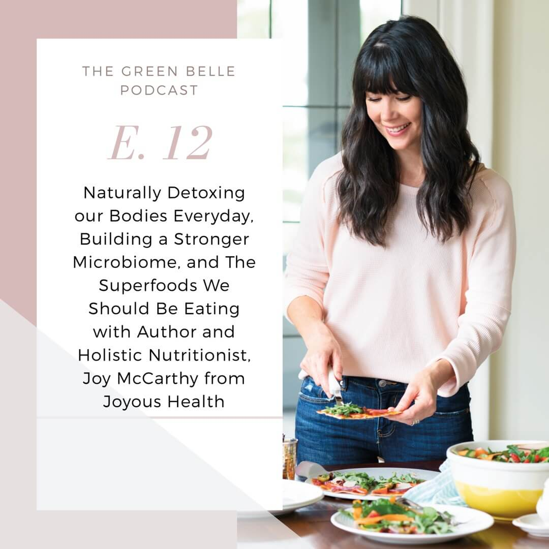 Joy McCarthy The Green Belle Podcast