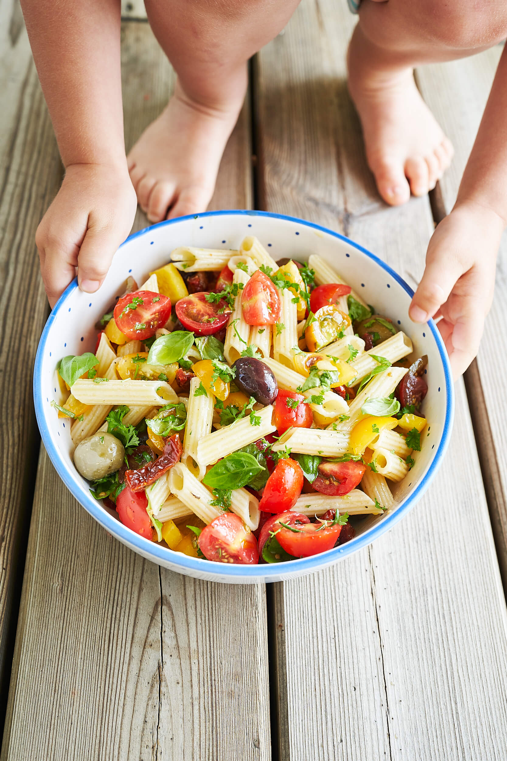 JUICY VEGGIE PASTA SALAD JOYOUS HEALTH
