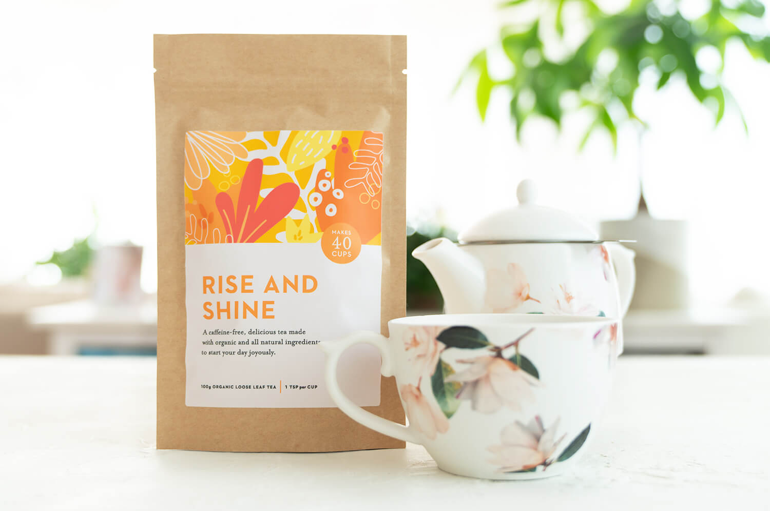 Joyous Health Rise and Shine Tea