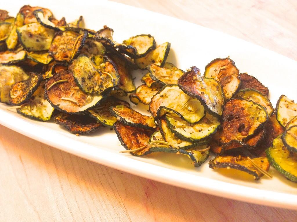 Sea salt rosemary zucchini chips recipe joyous health forumfinder Gallery