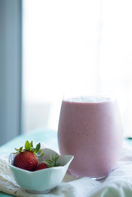 Strawberry Milkshake Recipe • Joyous Health